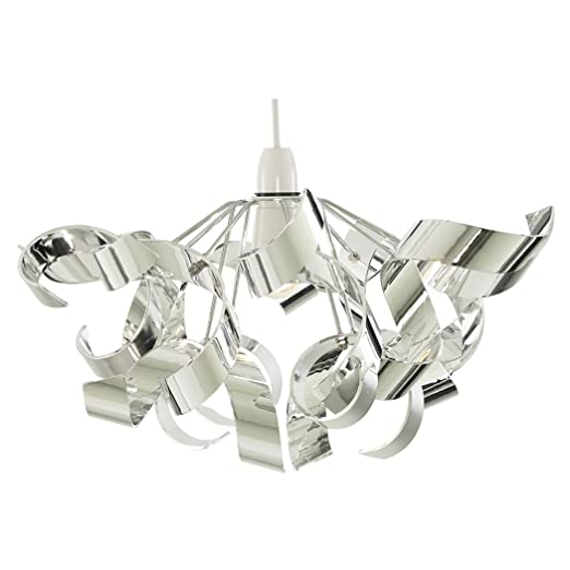 Pagazzi lyndsay pendant light shade chrome