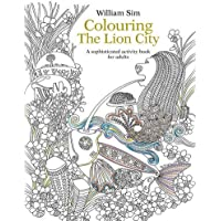 Colouring the Lion City: A Sophisticated Activity Book for Adults