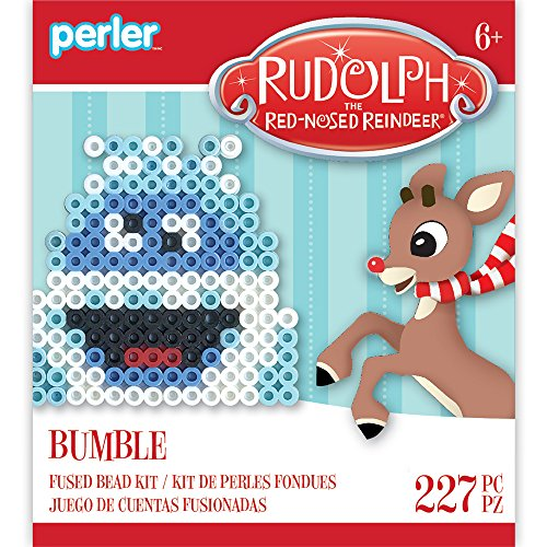 Perler Beads 80-72262 Rudolph the Red-Nosed Reindeer Fuse...