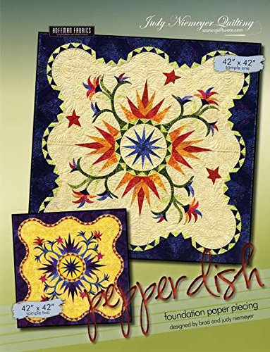 Pepper Dish Paper Piece Judy Niemeyer Quilt Pattern + Founda