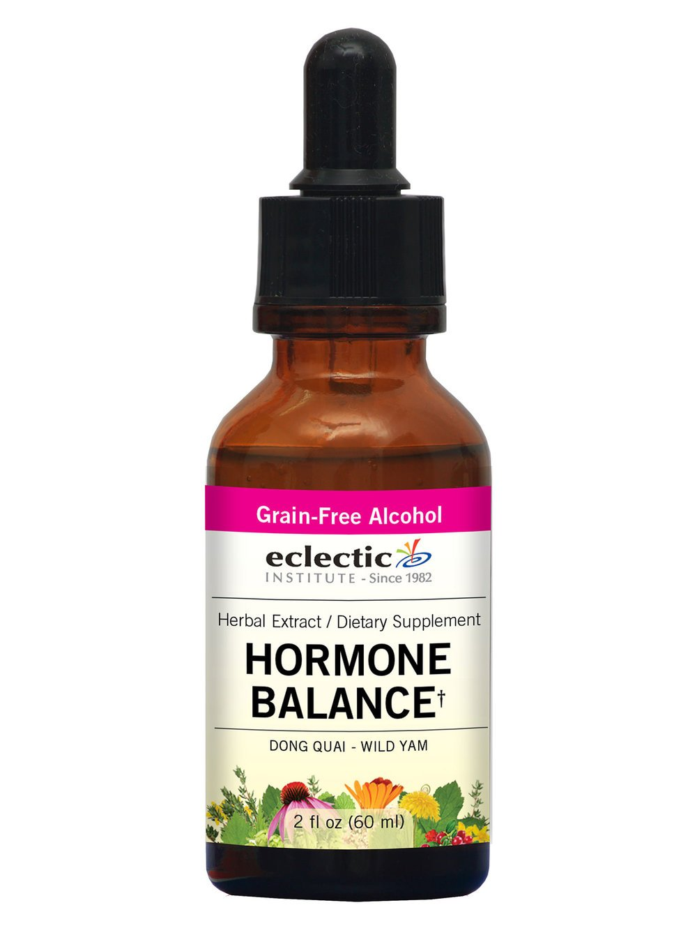 Eclectic Hormone Balance O, Red, 2 Fluid Ounce