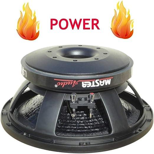 1 MASTER AUDIO MA30W//8 MA 30W//8 woofer professionale 30,00 cm 300 mm 12 300 watt rms e 600 watt max 8 ohm 94 db sospensione in gomma casa 1 pezzo