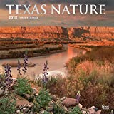 Texas Nature 2018 12 x 12 Inch Monthly Square Wall Calendar with Foil-Stamped Cover, USA United States of America Southwest State Wilderness (English, French and Spanish Edition)
