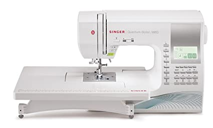 SINGER | | Quantum Stylist 9960 Computerized Portable Sewing Machine with  600-Stitches Electronic Auto Pilot Mode, Extension Table and Bonus