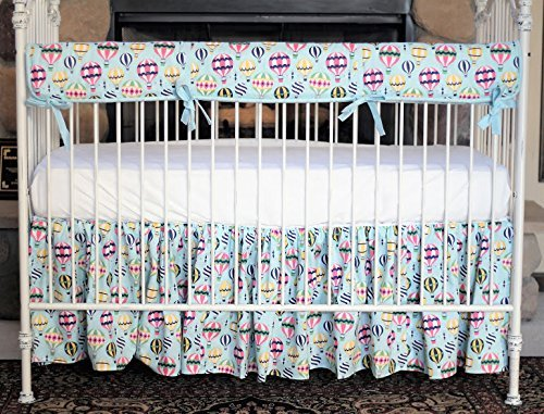 Hot Air Balloon | Crib Bedding Set by Bold Bedding