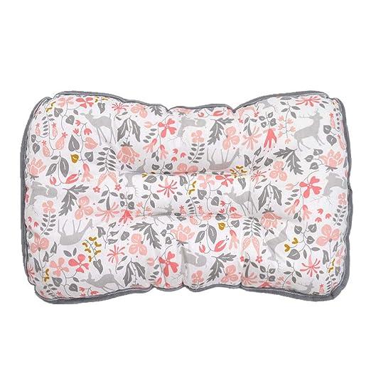 YQ&TL Almohada de algodón para niños Almohada para bebé ...