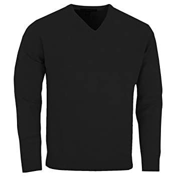3f99d8b1bf42 Greg Norman 2017 Mens V Neck Lambswool Sweater Golf Pullover  Amazon ...