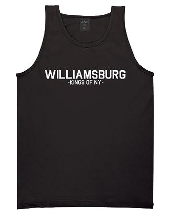 Kings Of NY Williamsburg Brooklyn Hipster Tank Top at Amazon Men's