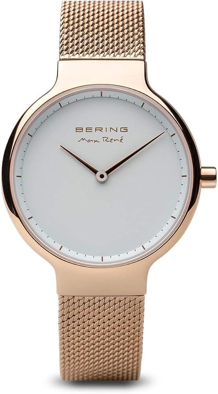 Relógio Bering para mulher com pulseira de aço inoxidável modelo 15531-364