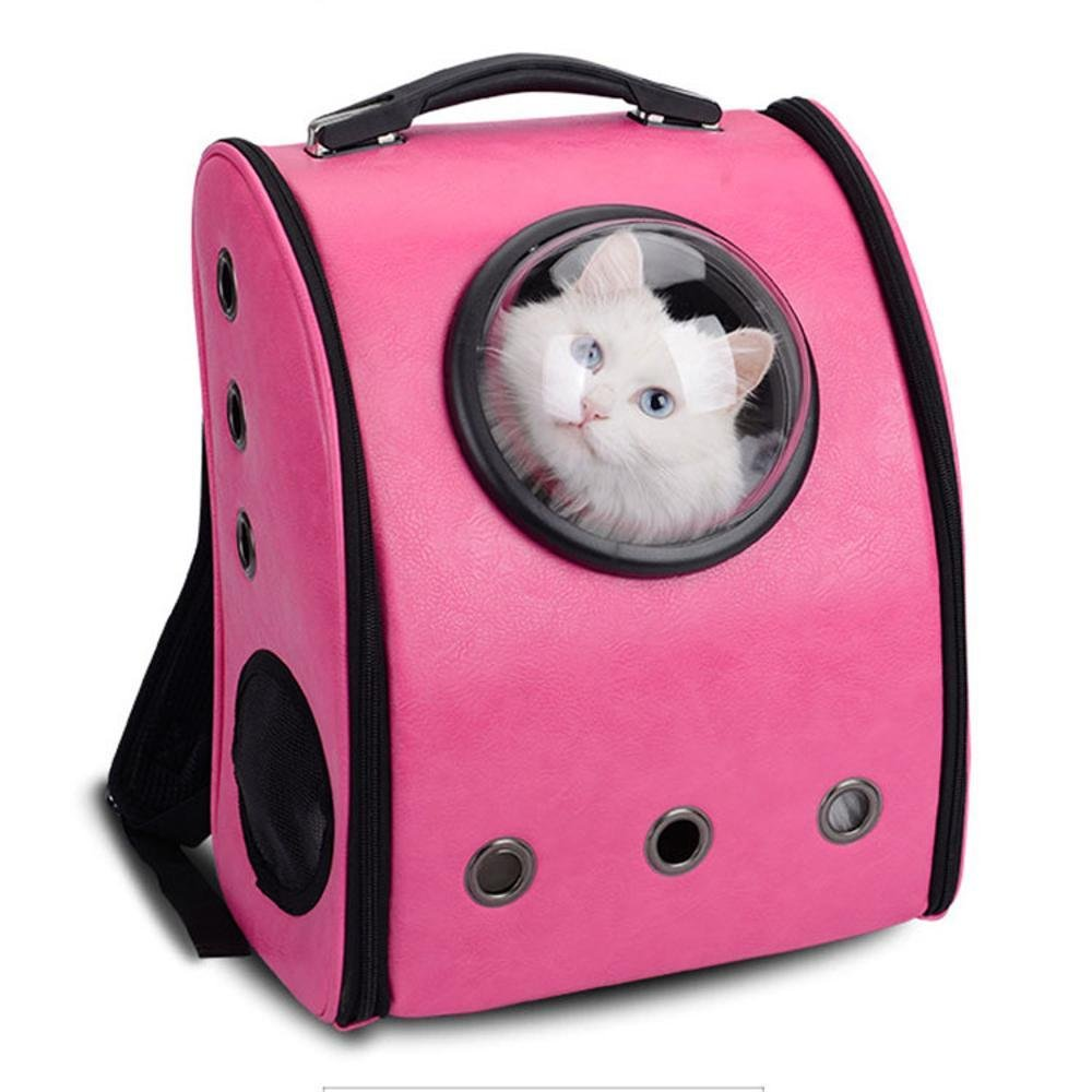 A Kaxima Pet Carrier Backpack Pet Space Backpack out portable pet bag breathable cat bag dog backpack Pet Supplies 34.5  29  42