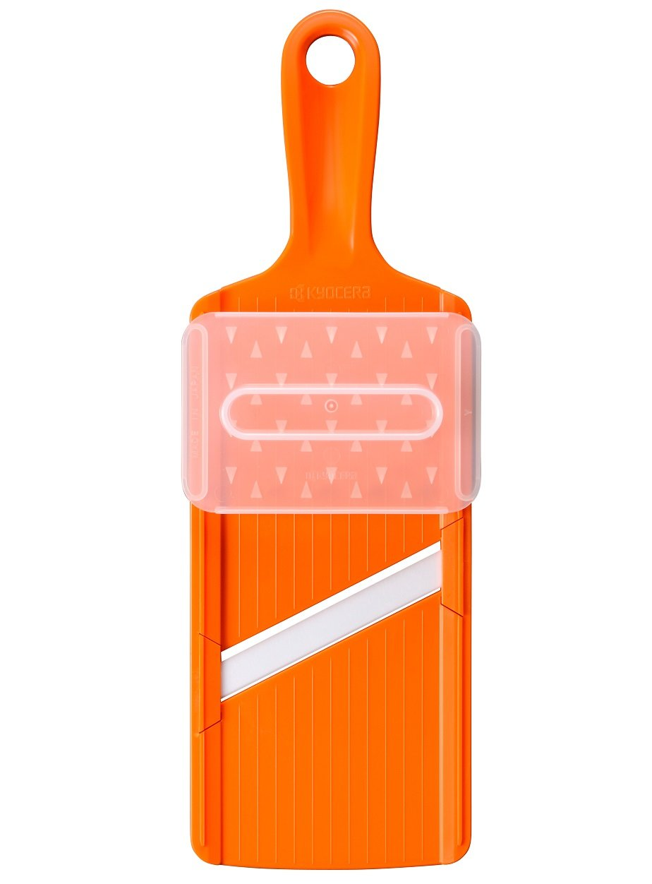 Ceramic Kyocera slicer (w/safety) Orange CSN-10OR (japan import)