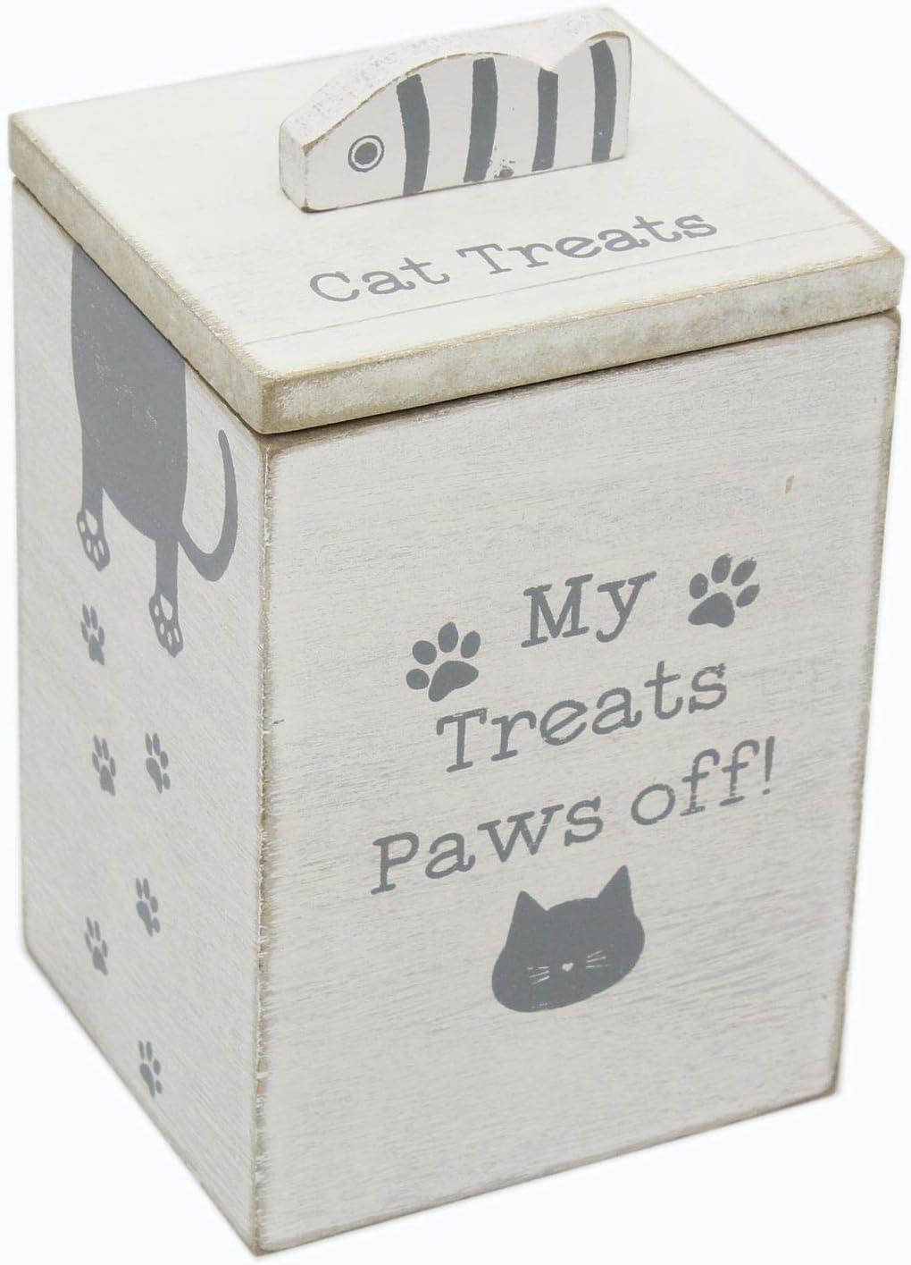 Carousel Home Caja de Madera Independiente con diseño de Patas de Gato: Amazon.es: Productos para mascotas