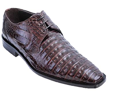 31e7eaa6e2d3 Men s Genuine Exotic Skin Crocodile Dress Shoe (8