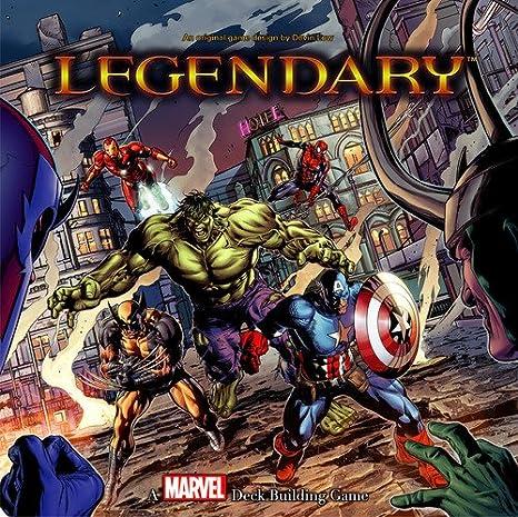 Upper Deck Entertainment Marvel Legendary – Juego de construcción de Cubierta