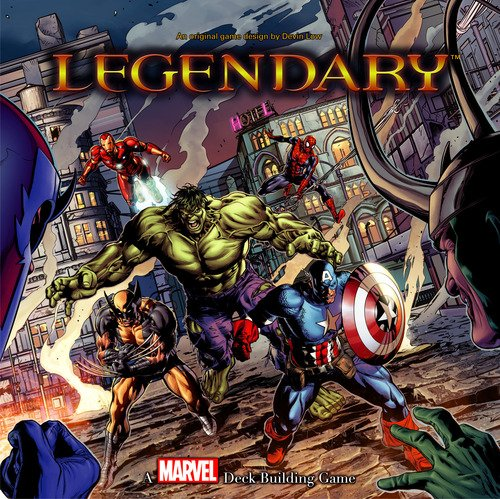 Base Upper - Upper Deck Legendary: A Marvel Deck Building Game