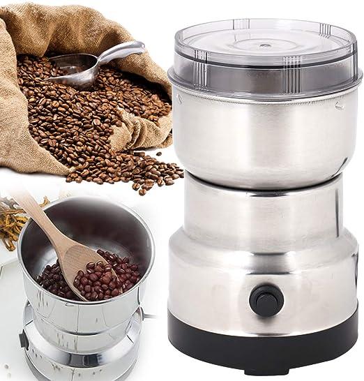 220V Elektrische Kaffeemühle Universal Kaffeemühlen Kaffeebohnen Mahlmaschine DE