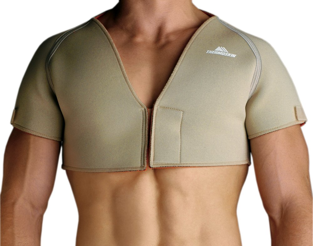 Thermoskin Double Shoulder Wrap, Beige, X-Large