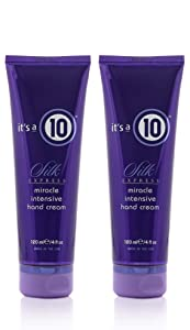 It's a 10 Haircare Silk Express Miracle Intensive Hand Cream, 4 fl. oz.(Pack of 2)