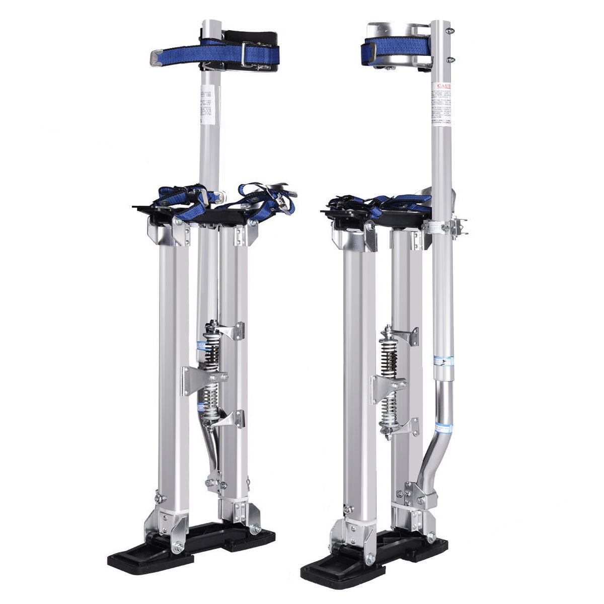 Eight24hours 18-30 Inch Drywall Stilts Aluminum Tool Painters Walking Taping Finishing Silver by Eight24hours