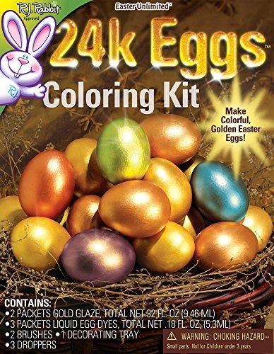 (24 Karat Easter Egg Coloring Kit )