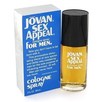 Jovan Sex Appeal By Jovan Cologne Spray 3 Oz