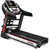 Powermax Fitness TDA-260 Motorized Multifunction Treadmill with Auto Inclination
