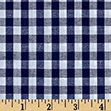 Richland Textiles Richcheck 60in Gingham Check 1/4in Navy Fabric By The Yard
