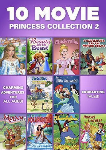 10 Movie Princess Collection 2 (Princess Movie Collection)