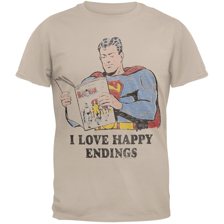 Superman - Happy Endings Soft T-Shirt