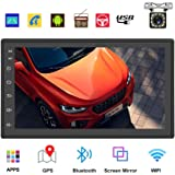 Podofo Double Din Car Radio GPS Navigation Android Car Stereo 7 Inch HD Touch Screen Car MP5 Player Dual USB AUX in…