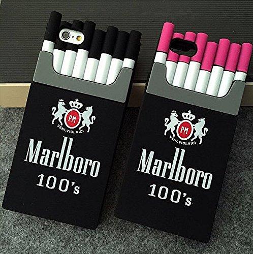 timeless design d31aa 97d56 Amazon.com: Cigarette Box Case for iPhone 6/6s Plus Case iPhone 7/8 ...