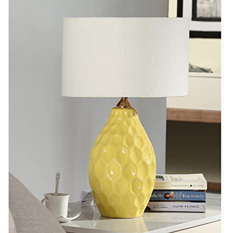 American Ceramic Table Lamp Bedroom Bedside Lamp, Study ...
