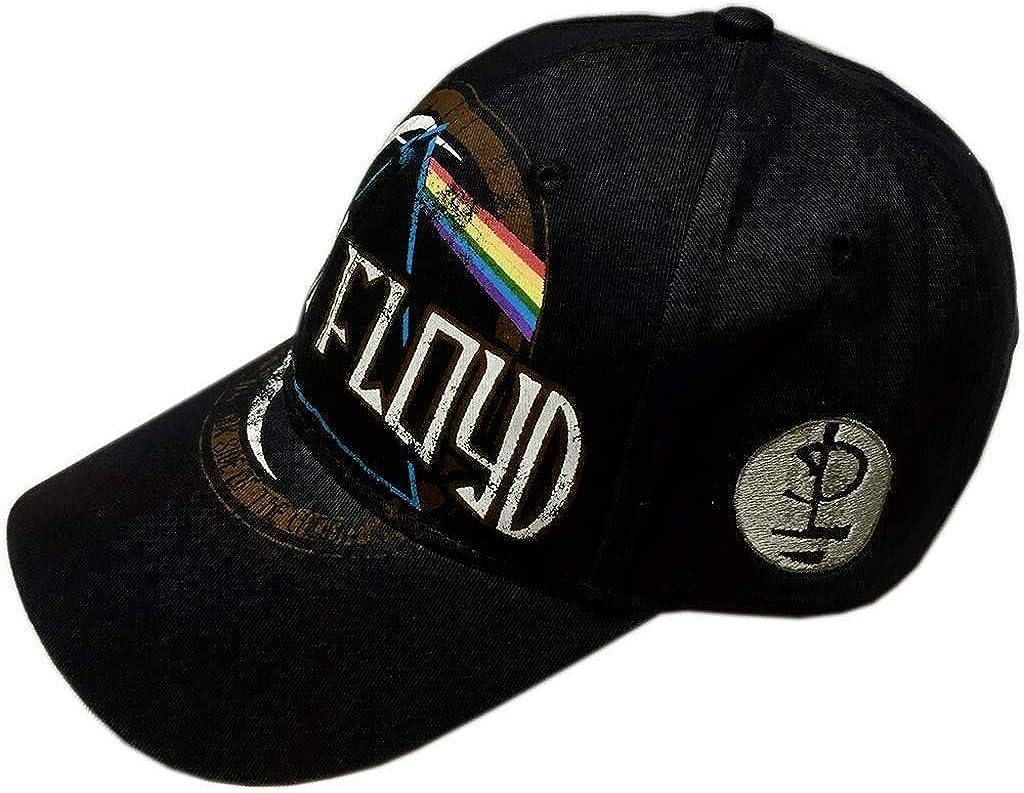 Pink Floyd Baseball Cap Dark Side of The Moon Circle Logo Official Strapback