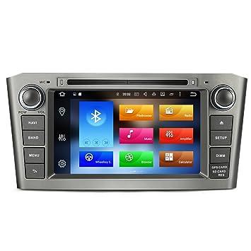 Rupse - Navegación GPS Radio de coche 7 pulgadas de pantalla Android Europea Sat Nav Doble Din AM FM Radio RDS receptor Wifi integrado: Amazon.es: ...