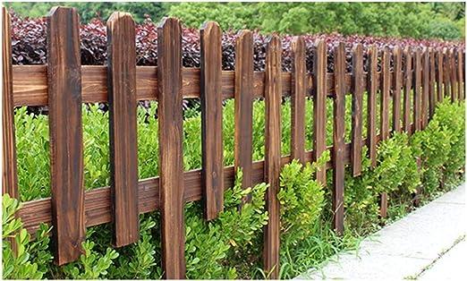 ZENGAI-vallas De JardíN Cerca Cortar Cerca De Animales Huerta Interior Al Aire Libre Barandilla Granja Durable Madera Anticorrosiva Fácil De Instalar 3 Colores (Color : Brown, Size : 122X90/60CM): Amazon.es: Jardín