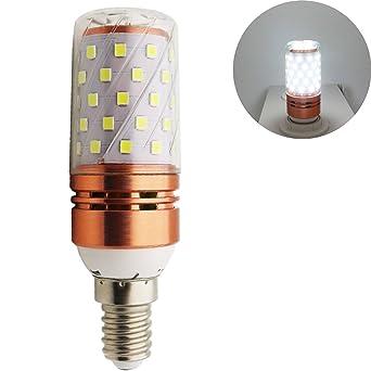 E14/E27 LED maíz bombilla, 12W/16W, Luz blanca fría 6500k LED