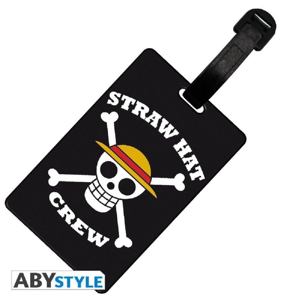Videogiochi ABYstyle Luggage Tag ONE PIECE Skull Luffy M01431