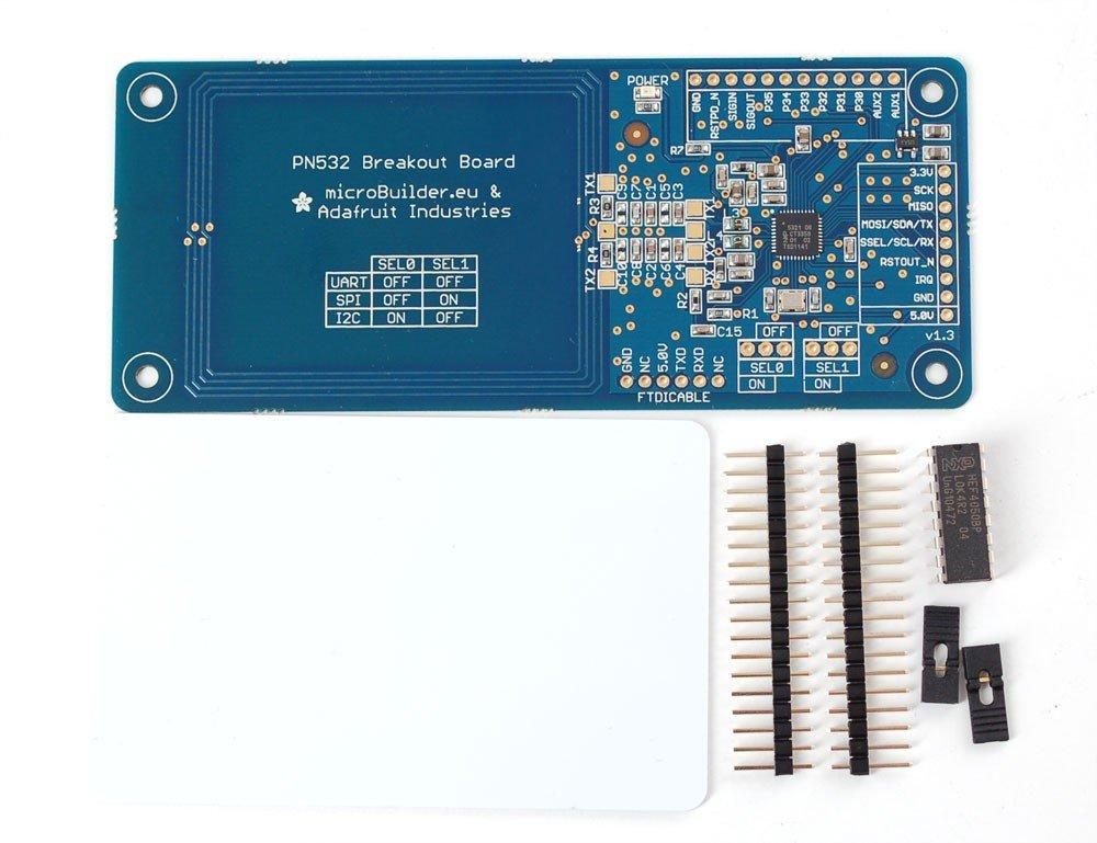 Adafruit RFID Transponder Tools PN532 NFC/RFID Controller Br