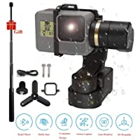 FeiyuTech Feiyu WG2X Waterproof Wearable Gimbal Stabilizer with Mini Tripod,Action Camera Gimbal Compatible with GoPro Hero 7/6 / 5/4 / Session Any Similar Size Camera