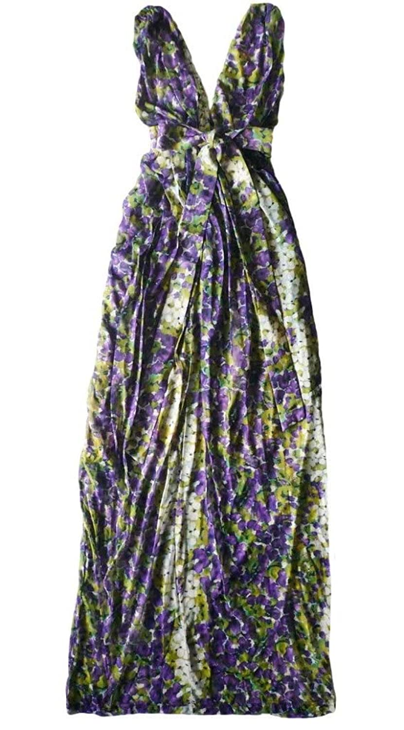 Mina Glyfada Uk Dress Maxi Dress Purple M