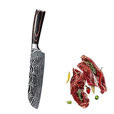 Compra YWCY CLASSESWORLD Cuchillo de Cocina Pro de 7 ...