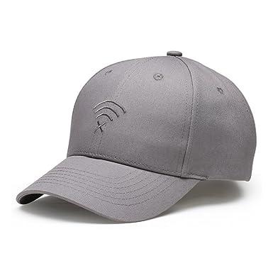 e3bc57d29eb1 Takiloy キャップ メンズ レディース 無地 帽子 Wi-Fi 刺繍 クラシック 野球帽 欧米風 オシャレ