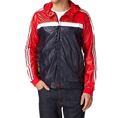 Con En Marathon Chaqueta Correr Impermeable Originals Vintage Para Windbreaker Y Adidas Texto Capucha La 3 Superior De Hombre Parte v0ONm8nw