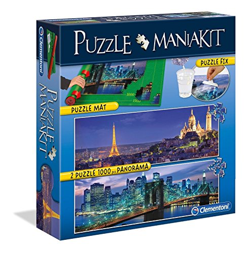 Clementoni 39277 Puzzle Mania Kit Panorama