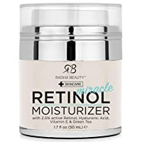 Radha Beauty Retinol Moisturizer Miracle Cream for Face - with Retinol, Hyaluronic...