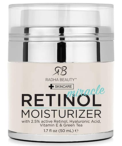 Radha Beauty Retinol Moisturizer Miracle Cream for Face