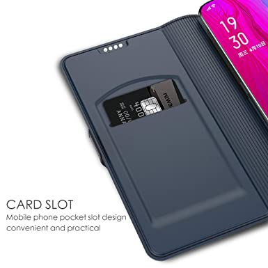 Amazon.com: Oppo Reno - Funda tipo cartera con función atril ...