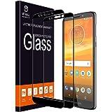 MP-MALL [2-Pack] Motorola Moto E5 Plus [Full Cover] [Case Friendly] Tempered Glass Screen Protector
