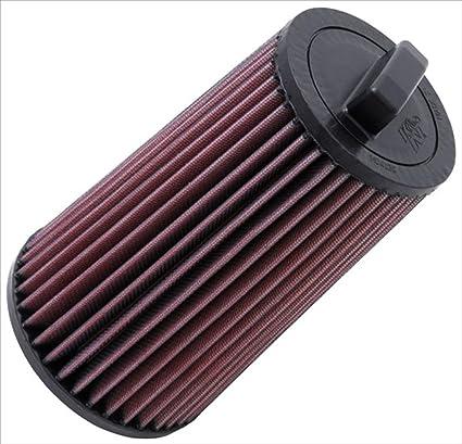 K&N E-2011 Filtro de Aire Coche, Lavable y Reutilizable