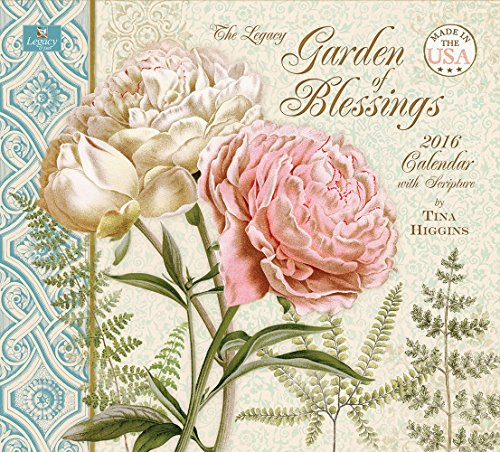 Legacy Publishing Group 2016 Wall Calendar, Garden of Blessings (WCA20725)